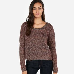 NWT Express Split Back Sweater